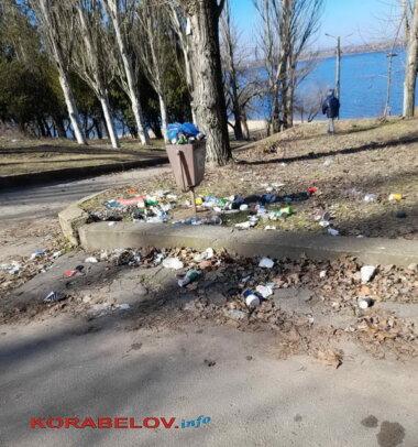 """""""А вокруг - срач. Это кошмар"""", - жители Корабельного района о мусоре и кучах листвы (видео)   Корабелов.ИНФО image 6"""