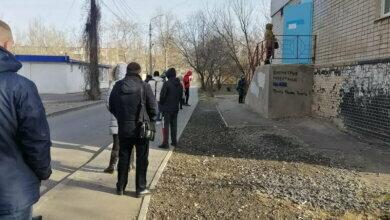 Очередь на ПЦР-тесты в Корабельном районе г. Николаева