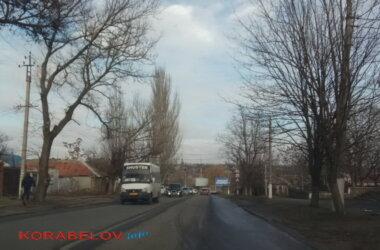 маршрутка №50, пр. Богоявленский, поворот перед марком на Торговую