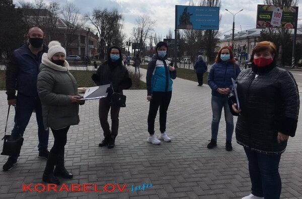 родители собирают подписи за старшие классы в Николаевской школе №40