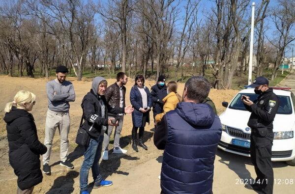 """экоинспекция в парке """"Богоявленский"""""""