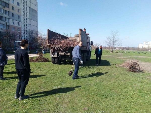 Попрацювали з лопатами: чиновники в Корабельному районі посадили дерева | Корабелов.ИНФО image 3