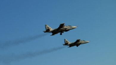 Летчики в небе над Корабельном районе провели тренировочные полеты | Корабелов.ИНФО