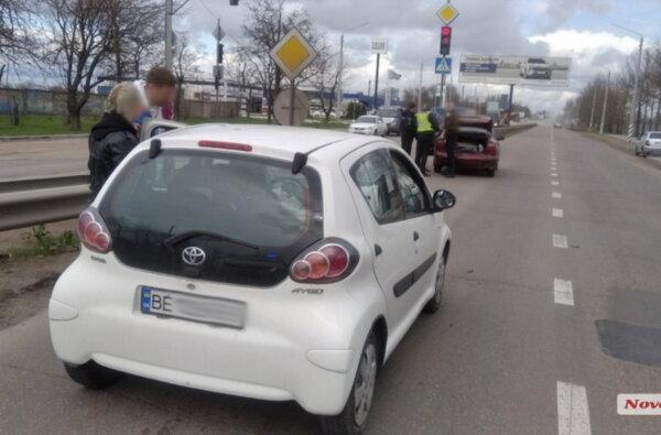 На Широкобальском перегоне девушка за рулем «Тойоты» въехала в Daewoo Sens   Корабелов.ИНФО image 2