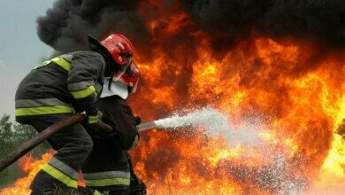 пожарные пожар