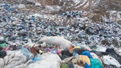 мусорная свалка в Галицыново