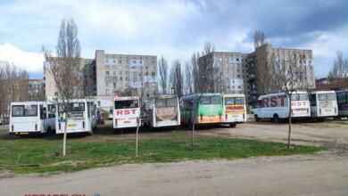 маршрутки на ул. Айвазовского