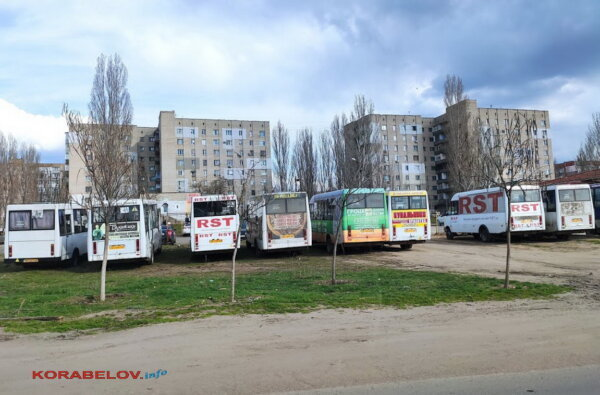 Корабельный район 20 апреля обслуживали менее 80-ти маршруток | Корабелов.ИНФО