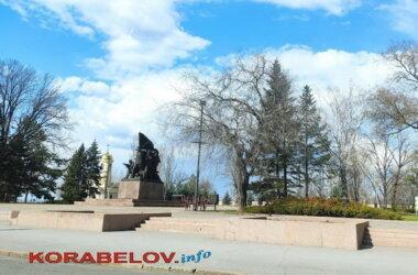 Николаев, мемориал ольшанцам