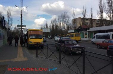 маршрутки на пр. Богоявленском