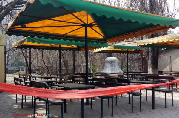 карантин: закрытое кафе на ул. Океановской в Николаеве