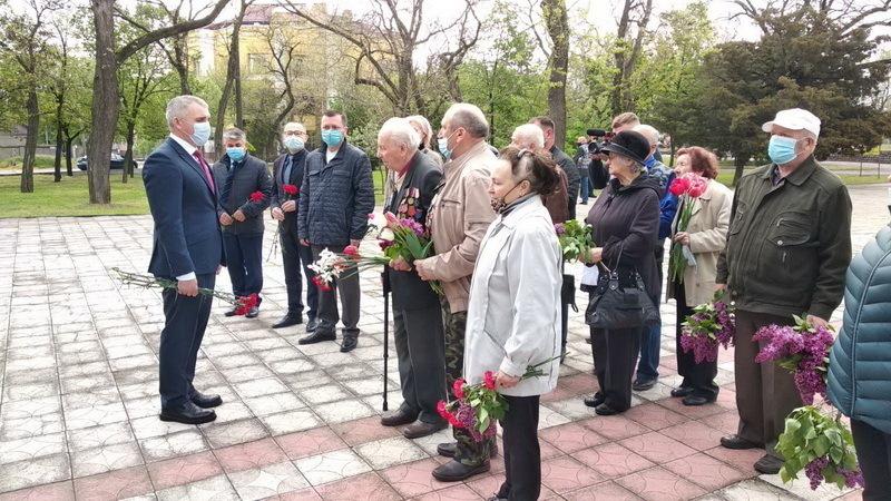 Сенкевич и ветераны в Корабельном районе