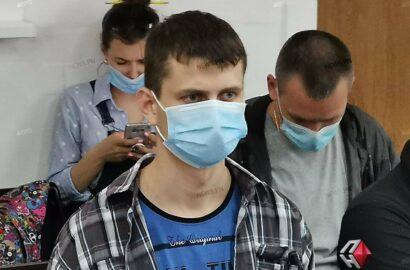 обвиняемый в убийстве доцента Щукина