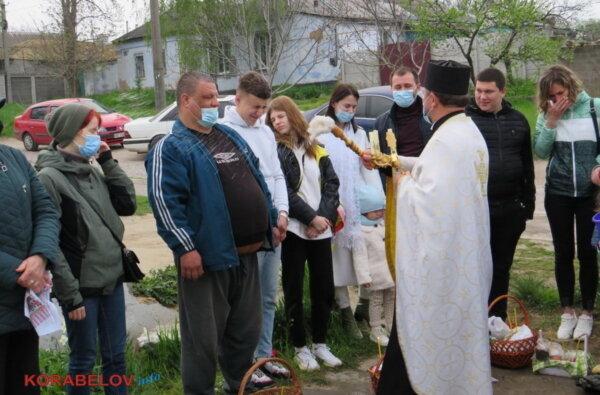 Пасха-2021 в Корабельном районе Николаева