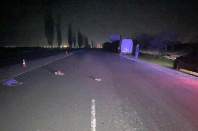 В Витовском районе Mercedes сбил насмерть женщину   Корабелов.ИНФО