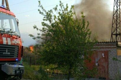 Пожар вблизи жилого сектора в Корабельном районе (Видео) | Корабелов.ИНФО image 3