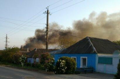 Пожар вблизи жилого сектора в Корабельном районе (Видео) | Корабелов.ИНФО image 4
