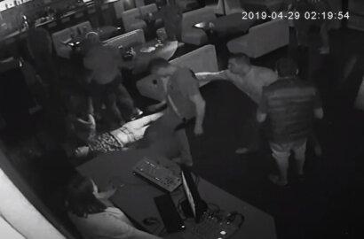 """избиение посетителя в баре """"Сопрано"""""""