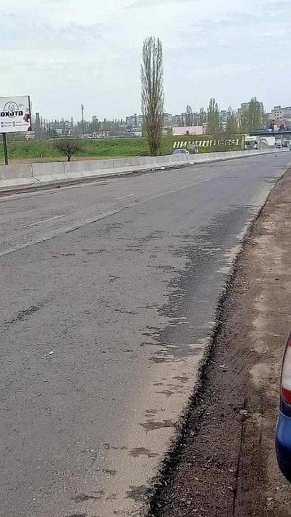На въезде в Николаев BMW врезался в бетонный парапет, установленный на прошлой неделе   Корабелов.ИНФО image 2