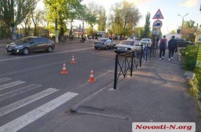 В Корабельном районе Николаеве «Мерседес» сбил женщину | Корабелов.ИНФО image 2