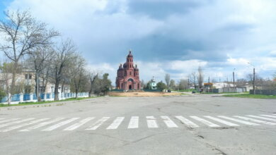 Николаев, Корабельный район: храм на ул. Торговой (май 2021)