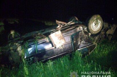 На трассе под Николаевом перевернулся «БМВ» - погиб пассажир | Корабелов.ИНФО