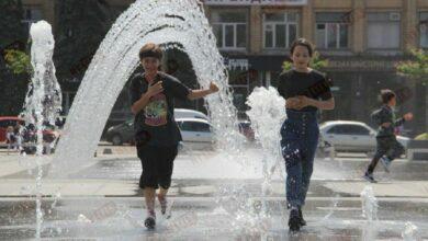 На Соборній площі в Миколаєві запрацювали фонтани