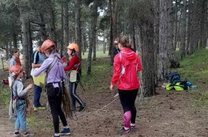 В Балабанівському лісі відбулися змагання з туризму | Корабелов.ИНФО image 1