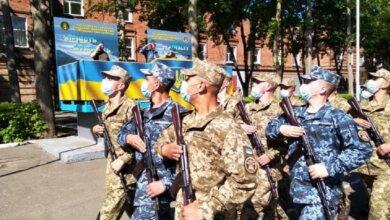 В Николаеве на верность украинскому народу присягнули более 165 матросов-«срочников» | Корабелов.ИНФО
