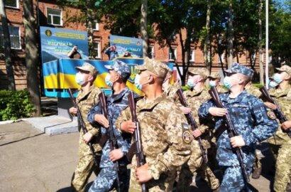 В Николаеве на верность украинскому народу присягнули более 165 матросов-«срочников»   Корабелов.ИНФО