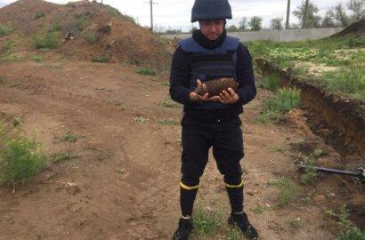 Николаевец в Корабельном районе наткнулся на артиллерийский снаряд   Корабелов.ИНФО