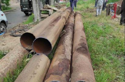 «Николаевоблтеплоэнерго» в Корабельном районе демонтирует 50-летний магистральный трубопровод