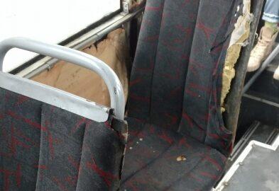 сиденья в маршрутке №91