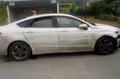 Ford одессита - виновника ДТП