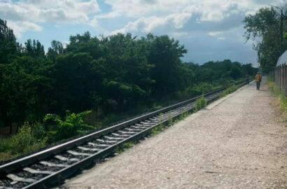 железная дорога в Корабельном районе Николаева