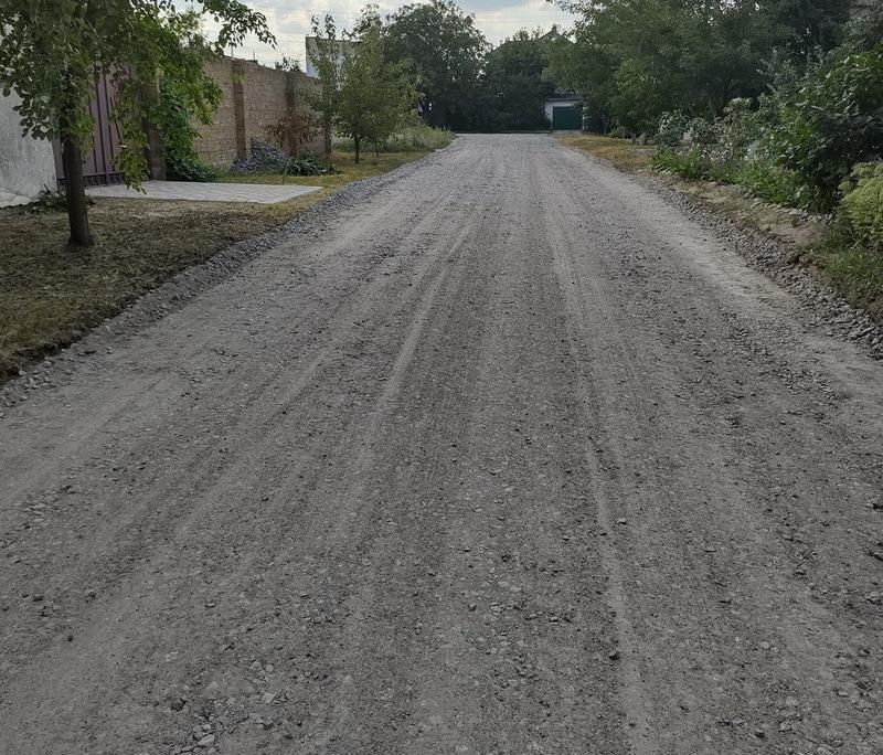 ремонт дороги по ул. Кубинской в Николаеве