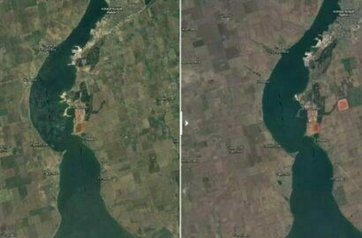 Земля вокруг НГЗ за 36 лет