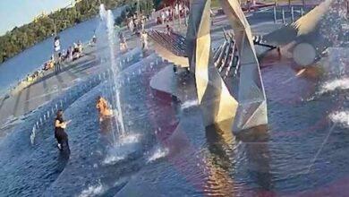 фонтан в Днепре