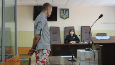 подсудимый Шашаев и судья Головина