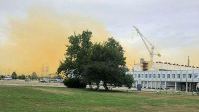 авария на заводе Фирташа