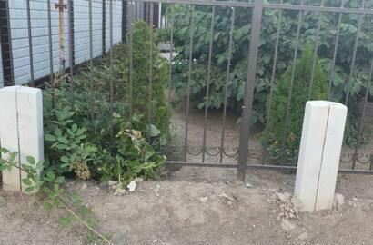 забор по ул. Маячной, 20