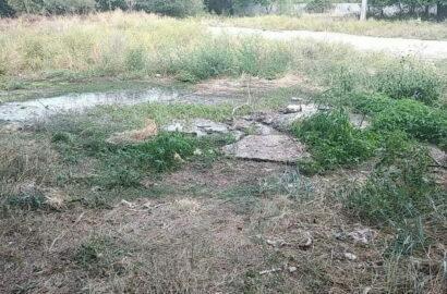 протекающая канализация на ул. Океановской