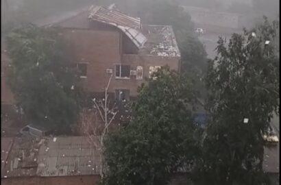 снесло крышу здания суда
