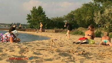 """пляж """"Чайка"""" в Николаеве"""