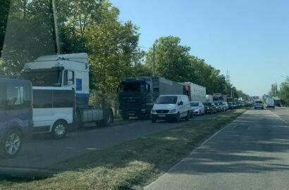 пробка на проспекте Богоявленском