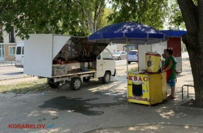 незаконная торговля у дома по пр. Богоявленскому, 311 (25.08.2021)