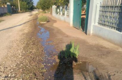 порыв воды