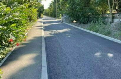 отремонтированная дорога в Кульбакино