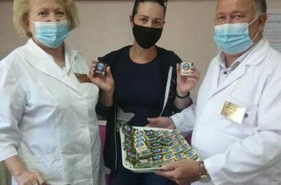 Шоколадки привившимся от ковида