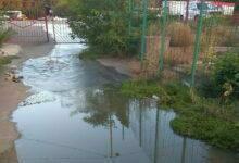 прорыв канализации по ул. Рыбной
